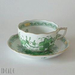11月1日は紅茶の日♪特別価格55%オフ【送料無料】ヘレンド FV インドの華 724/0/00 ティ...