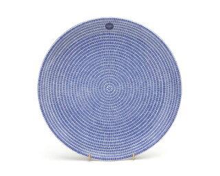 アラビア arabia 24h Avec(アベック) 8283 プレート 26cm ブルー 【お皿】[201710イーグルス]