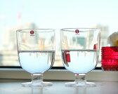 イッタラ レンピ クリア グラス 350ml 2個入り(ペア) 951169 【ペア セット】【セット 赤ワイン 白ワイン】【おしゃれ 北欧食器】