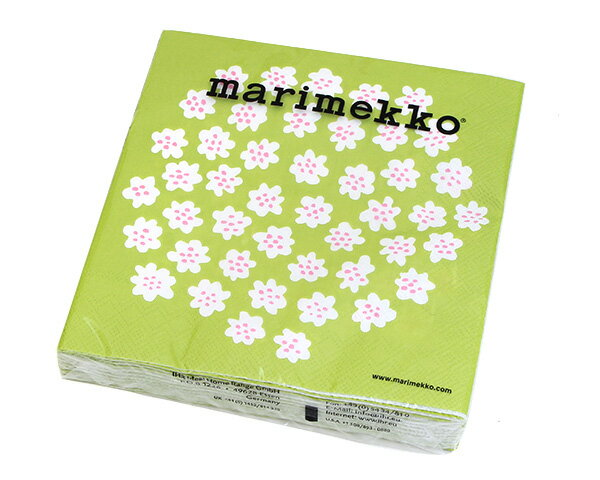 配膳用品・キッチンファブリック, ナプキン  33x33cm 20 575729 marimekko PUKETTI