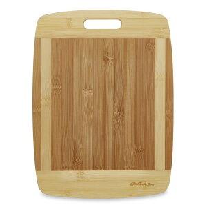 孟宗竹 竹製 まな板 カッティングボード 人気キッチンツール プレミアム 38cmx30.5cm ナチュラルバンブー Kitchen Active Bamboo Cutting Board