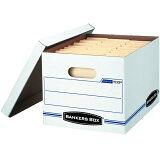 USA直輸入品 バンカーズボックス マニラファイル 収納ボックス Bankers Box 703ボックス (6個セット) 30.5cm×25.4cm×38cm Brand: Bankers Box