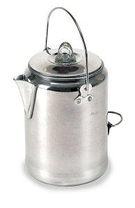 Stansport コーヒー 20カップ アルミニューム パーコレーター コーヒー沸かし Aluminum Percolator Coffee Pot 20 Cups
