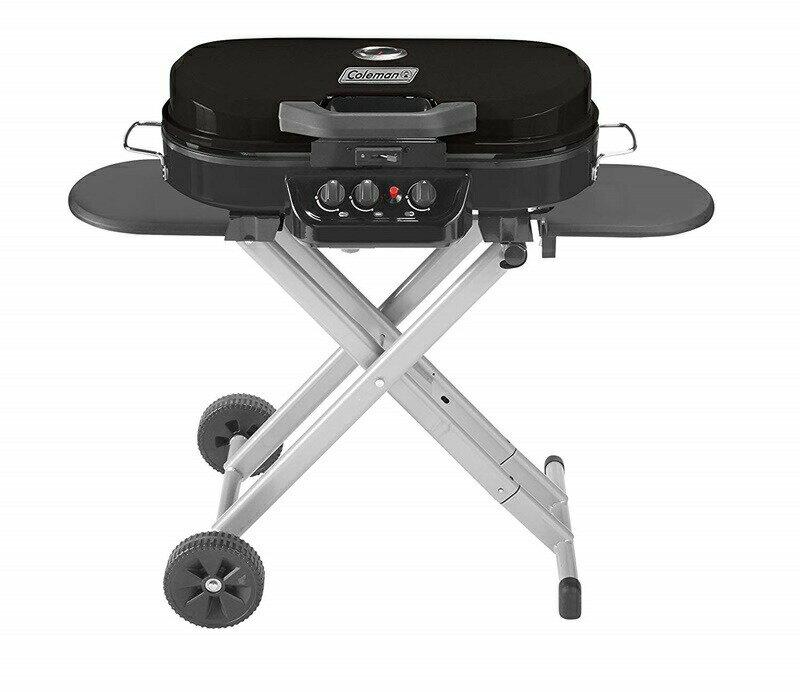 バーべキュー・クッキング用品, バーベキューコンロ 10OFF 285 Coleman RoadTrip 285 Portable Stand-Up Propane Grill