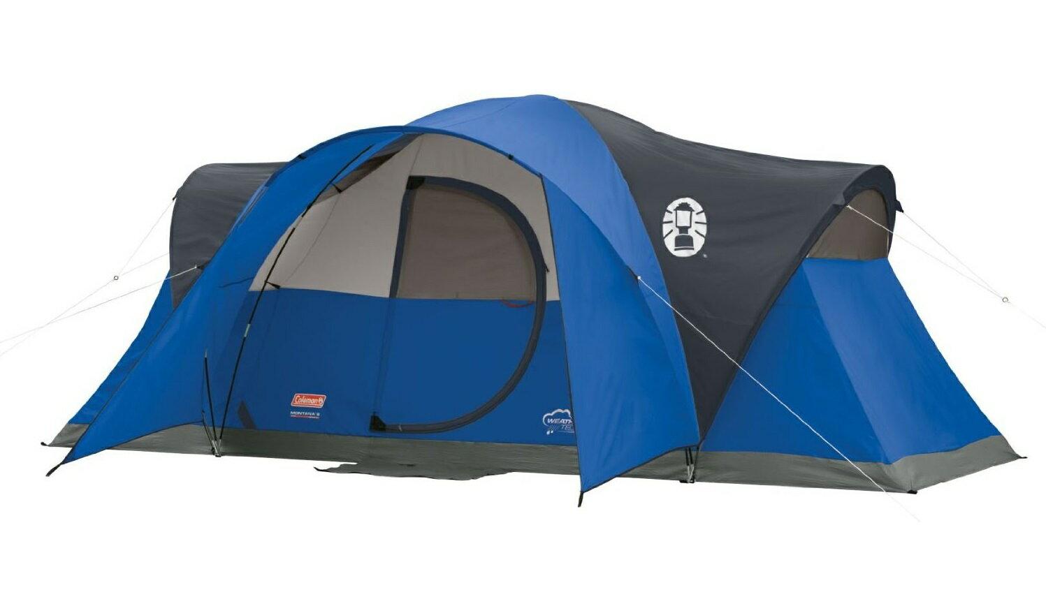 コールマン モンタナ 8人用 ドームテント ブルー 大型テント Coleman Montana 8-Person Tent Blue
