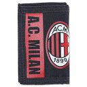 【本日クーポン5%:ポイント3倍】ACミラン 財布 AC Milan Wallet パース 二つ折り