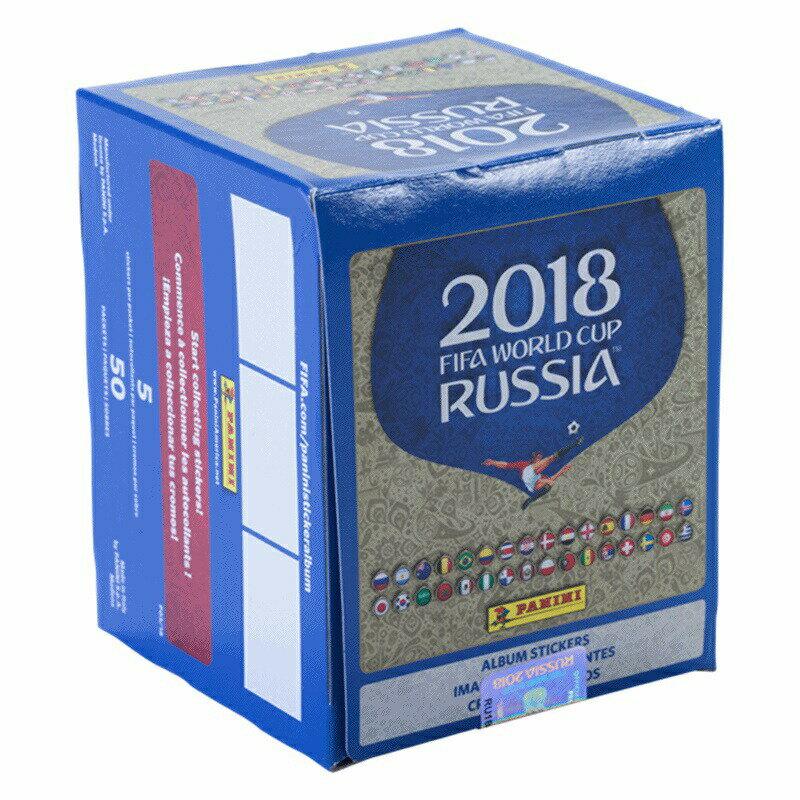 トレーディングカード・テレカ, トレーディングカード PANINI 2018 2018 FIFA World Cup Russia? Panini Sticker Collection - 50 Pack