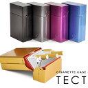 【シガレットケース】 TECT 20本 スライド式 タバコケース かわいい 煙草入れ たばこケース メール便可 あす楽