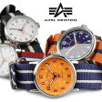 メンズ 腕時計 ALPHA INDUSTRIES アルファインダストリーズ MA-1 ミリタリーウォッチ 正規品 AL-503M 送料無料