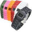 メール便送料無料 メンズ レディース デジタル 腕時計 BANDIT バンディット プラスチック ウォッチ LEGOみたいでユニーク あす楽