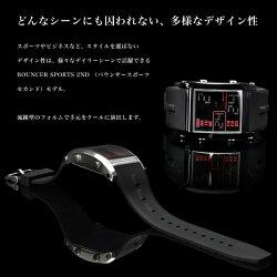 BOUNCERバウンサースポーツ2ndメンズ腕時計
