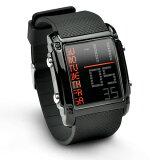 メンズ デジタル 腕時計 BOUNCER SPORTS バウンサー スポーツ 防水 ストップウォッチ機能 送料無料 あす楽