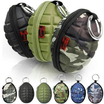 コインケース キーケース ブランド Motif モチーフ グレネード(手榴弾)型 おもしろ雑貨 メンズ レディース 小銭 カラビナ あす楽