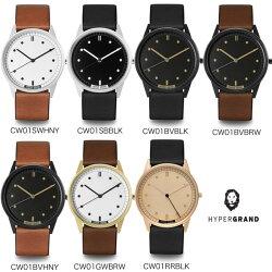 メンズデザイン腕時計正規品HYPERGRANDハイパーグランドレザーベルトシリーズメンズ腕時計デザインウォッチ本革おしゃれ送料無料