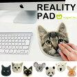 リアリティーパッド メール便可 マウスパッド アニマルマウスパッド マウスパット かわいい おしゃれ 猫 コースター アメリカンショートヘア シャム ボンベイ スコティッシュ あす楽