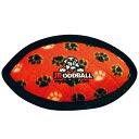 トラも遊ぶ世界最強のぬいぐるみ 丈夫で長持ち タフィ ラグビーボール赤ジュニア