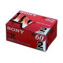 ソニー [2DVM60R3] ミニDVカセットテープ2DVM60R3 1パック(2巻)