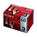 ソニー [3DVM60R3] ミニDVカセットテープ3DVM60R3 1パック(3巻)