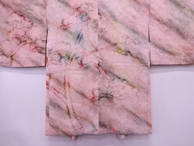 【IDN】 本総絞り抽象模様絵羽織【リサイクル】【中古】【着】