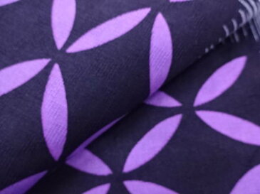【IDN】 変わり織 横段に古典柄模様浴衣(フリーサイズ)(グレー)【新品】【着】