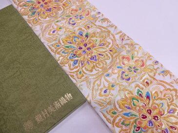 【IDN】 龍村美術織物 たつむら製 西域富華錦袋帯(未仕立て)【q新品】【着】