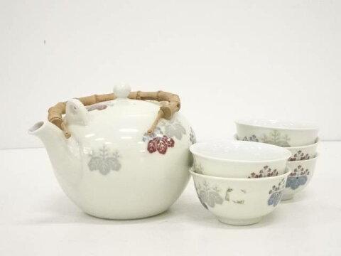 【IDnet】 戦前オールドノリタケ 日本陶器 桐紋茶器セット【中古】【道】