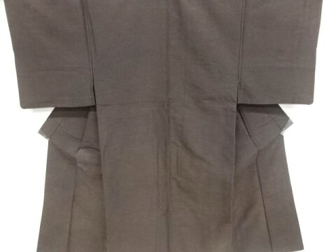 【IDnet】 手織り紬男物着物【アンティーク】【中古】【着】