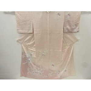 [IDnet] Hand-painted branch flower pattern single clothes visiting clothes [recycle] [used] [wear]