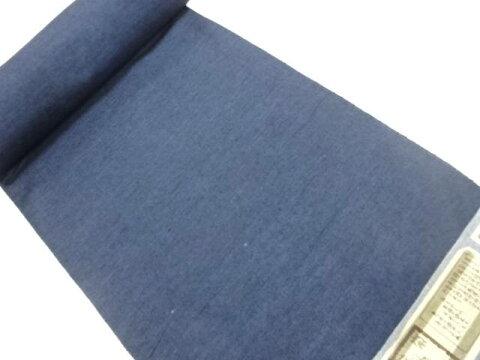 【IDnet】 B反 手織り紬織り柄男物アンサンブル反物【リサイクル】【中古】【着】