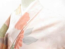 【IDnet】 小紋 花散らし文 着物【リサイクル】【中古】【着】
