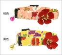太幅&柔らか仕上げが嬉しい上品なちりめん首輪梅柄首輪×上品な梅の花のモチーフで華やかに♪...