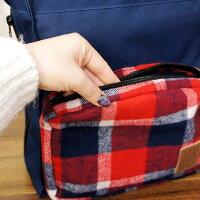 【犬】【お散歩バッグ】正面には便利な立体ポケット付き