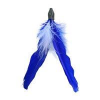 【猫】【おもちゃ】青い羽根