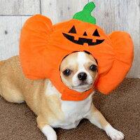 簡単に大きなおばけかぼちゃに変身できます