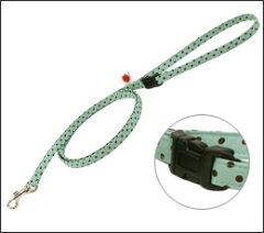 軽くて柔らか♪手になじみ使いやすい布製リードお手持ちのハーネスや首輪に繋げて使ってね。【...