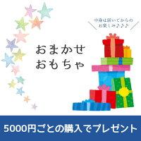 5000円ごとのご購入でおまかせおもちゃプレゼント。無くなり次第終了。