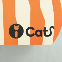 【猫】【つめとぎ】iCatアイキャットオリジナルつめとぎしまネコ。ダンボールのアップ