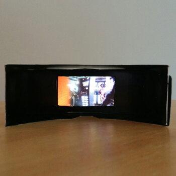 誰でも手軽に360°VR映像を楽しめる一眼VRレンズの仮想眼鏡無地1個
