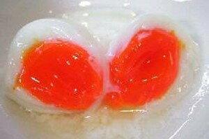 ラジウム玉子発祥の地!飯坂温泉の源泉で作った若鶏の温泉玉子の黄身はゼリー状、白身はプリンの...