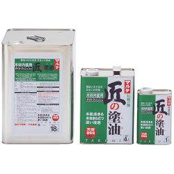 (18L×1缶入)太田油脂匠の塗油(クリアー)(木材内装用オイル・フィニッシュ)18L※メーカー直送品