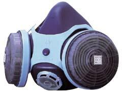 アスベスト作業用防じんマスク CA-111 半面型