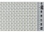 吉田隆 亜鉛引平織金網 0.63×6.5メッシュ 幅450mm×長さ1m ロール