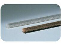 槌屋ティスコ 隙間モヘアシール 9090 幅9mm×毛9mm×長さ2m グレー/ライトブラウン