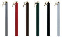 宝泉製作所352-1WATERPOST水栓柱スタイリッシュモダンウォーターポール6色1口タイプゴールド仕上げSENSUI泉水