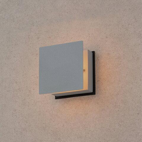 タカショー HGD-H11N 粋 ウォールライト 100V(ほのあかり) 銀ねず(電球色)