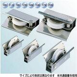 ヨコヅナ AES-0141 サッシ取替戸車 ジュラコン車 14型 丸 (10個入)