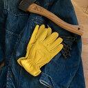 Kinco Gloves キンコ グローブ 80 UNLINED GRAIN DEERSKIN 鹿革ワークグローブ