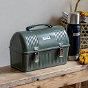 スタンレー STANLEY ランチボックス クラシック ランチ ボックス 9.4L グリーン ネイビー BOX 道具入れ アウトドア 旧ロゴ