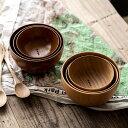 ウッデンキャンプボウル WOODEN CAMP BOWL &NUT アンドナット キャンプ アウトドア お皿 カトラリー セット