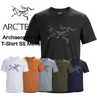 【正規取扱店】ARC'TERYX Archaeopteryx T-Shirt SS アークテリクス アーキオプテリクス Tシャツ 夏 半袖 Tシャツ メンズ 黒 グレー 紺 白 カーキ 黄色 ロゴ 送料無料